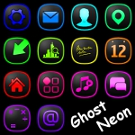 Ghost Neon Iconpack